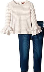 7 For All Mankind Baby Size Chart Amazon Com 7 For All Mankind Kids Womens Two Piece Set Rib