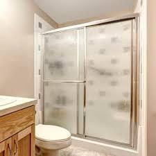 cleaning shower door tracks