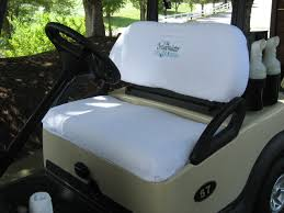 seat covers for ezgo golf cart colors white