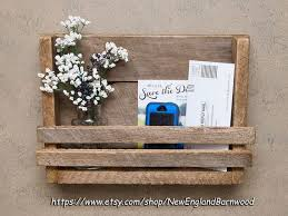 mail organizer wall letter holder