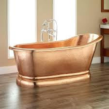 best bathtub material best copper bathtub 7 awesome tub materials for luxury bathrooms best copper bathtub best bathtub material