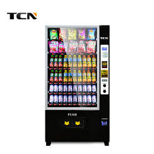 Snack Vending Machines With Card Reader Interesting China Tcn Coin Operated Card Reader Vending Machine For Snack And