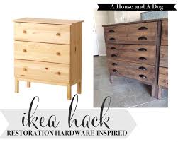 Staining Bedroom Furniture Ikea Tarva Hack Some Stain And New Hardware Could Do This With