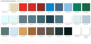 Ral Chart Download Ral Farben Download Ral Palette Download Pal Trend Ral