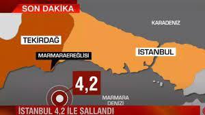 İstanbul'da deprem oldu korkutan uyarı geldi! Son dakika deprem haberleri son  depremler listesi - Günün Haberleri