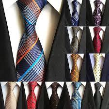 <b>67</b> Styles Men's <b>Ties</b> Solid <b>Color</b> Stripe Flower Floral 8cm Jacquard ...