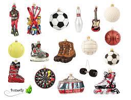 Christbaumschmuck Figuren Sport Auswahlvolleyball Ball 5cm