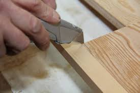 solid birch ply table applying edging to plywood edges  applying edging to plywood edges
