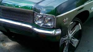 1970 Chevrolet Caprice on 26 Davins - YouTube
