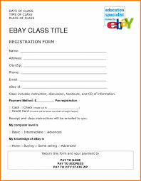 printable registration form template template printable registration form template 2 4 job format ledger