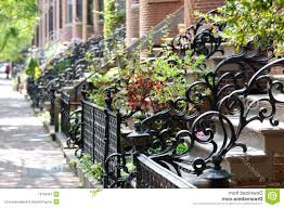 wrought iron fence victorian. Victorian Wrought Iron Railings Antique Railing And Fence Royalty Free Stock