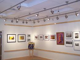 gallery track lighting. why led track lighting is suitable for museum and art gallery e