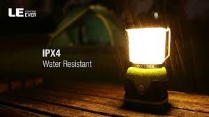Le Lighting Le Led Camping Lantern Battery Powered Led With 1000lm 4 Light Modes Waterproof