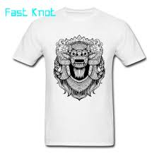 T Shirt Design For Drawing The Barong Drawing T Shirts For Adult Custom Boy Full Cotton Tee Shirt On Sale The Barong Unique Design Digital Printing T Shirt Shirt Designs Best T