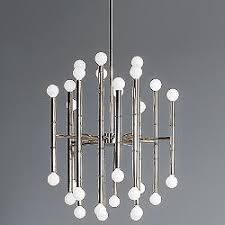 exposed lighting. meurice 30 light chandelier exposed lighting i