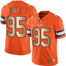 Sale Nike Untouchable 95 Nfl Rush Wolfe Limited Men's Orange Broncos Denver For gold Jersey Vapor Derek dbfccaeefcceeea|Gronk & Friends