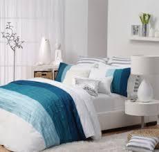 13 best Master bedroom images on Pinterest   King size bedding ... & Logan and Mason VILLA BLUE Aqua King Size Bed Quilt Doona Cover Set 3pc NEW Adamdwight.com