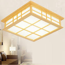 craft room lighting. japanese style delicate crafts wooden frame ceiling light led lights luminarias para sala dimming craft room lighting