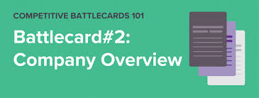 Company Overview Templates Klue Competitive Battlecards 101 Company Overview