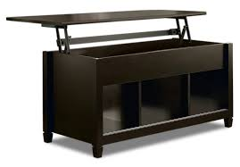 accent and occasional furniture edge water coffee table with lift top estate black