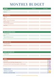 Budget For Young Adults 011 Simple Monthly Budget Spreadsheet Eet For Young Adults