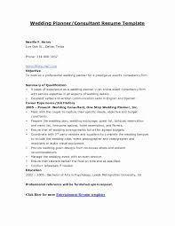 Event Coordinator Resume Sample Beautiful Resume Fashion