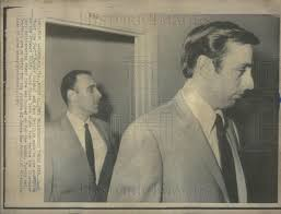 1969 Press Photo Jack Murphy and Jack Griffith on trial for murder    Historic Images