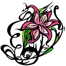 Decorative Line Clip Art Similiar Decorative Lines With Flowers Keywords