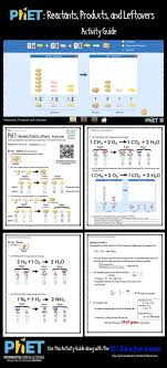 phet reactants s and leftovers activity guide