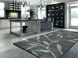 kitchen area rugs gray
