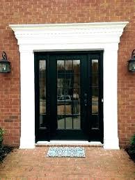 door casing home depot exterior garage trim kits interior door frame casing ideas inch