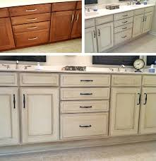 Kitchen Island And Chalk Paint Kitchen Cabinets Before And After Images