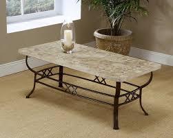 rectangular wrought iron coffee table