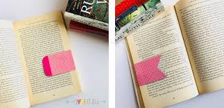 bookmark bookmarks diy bookmark tutorial magnetic bookmarks tutorial books