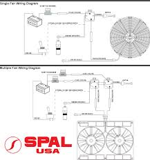 spal cooling fan wiring 3 wire not lossing wiring diagram • spal usa wiring harness 185 deg thermoswitch and relay rh pacificcustoms com spal fan wiring diagram spal fan relay wiring