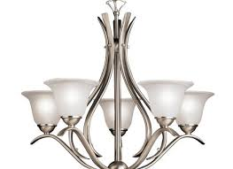 kichler lighting 2020 5 light dover chandelier atg s