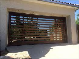 interior modern wood garage doors los angeles faux slat door with windows and glass modern wood