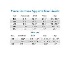 Vince Camuto Womens Extend Shoulder V Neck Mix Media