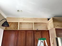 Above Kitchen Cabinet Storage Creative Storage Above Kitchen Cabinets