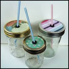 Decorating Mason Jars For Drinking How To Make DIY Mason Jar Straw Lids The Craft Collective 49