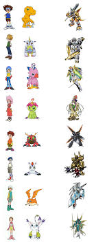 Digimon Armor Evolution Chart With The Will Digimon Forums