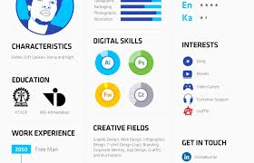 Resume Infographic Template Free Infographic Resume Template Free Cv Design Template In Psd 49