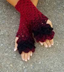 Dragon Scale Fingerless Gloves Pattern Free Cool Design Inspiration