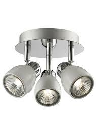 spotlights ceiling lighting. Felix 3 Spotlight Ceiling Light White Spotlights Lighting O