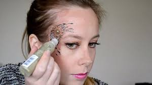 steunk makeup tutorial 9 glitter