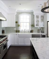 White Kitchen Dark Wood Floors White Kitchen Cabinets Dark Tile Floor Outofhome