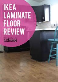 ikea laminate flooring review