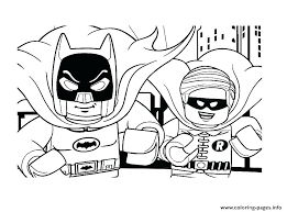 Lego Nightwing Coloring Pages Coloring Pages Robin Coloring Page