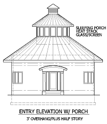 round house with elliptical rooms