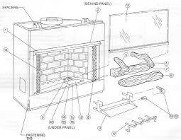 stunning design fireplace parts gbu36 natural vent gas 232